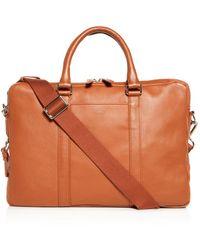 Shinola - Slim Leather Computer Briefcase - Lyst