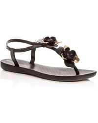 9eb2b4ef52a Dolce Vita Women s Clyde Studded Denim Thong Sandals in Blue - Lyst