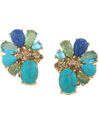 Carolee - Stone Cluster Clip - Lyst