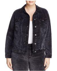 Lucky Brand - Denim-style Velvet Jacket - Lyst