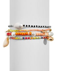 BaubleBar - Summer Beaded Stretch Bracelets - Lyst