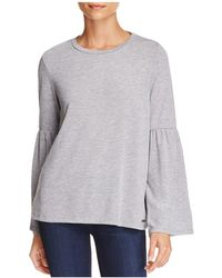 CALVIN KLEIN 205W39NYC - Bell-sleeve Top - Lyst