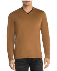 The Kooples - Piped Long Sleeve Tee - Lyst