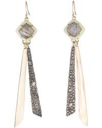 Alexis Bittar - Crystal Embellished Drop Earrings - Lyst