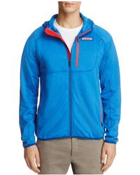 Vineyard Vines | Grid Fleece Full Zip Hooded Jacket | Lyst