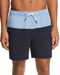Theory - Cosmos B Simulate New Color-block Swim Shorts - Lyst