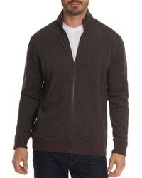 Robert Graham - Oneonta Front-zip Cotton Sweater - Lyst
