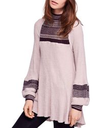 f1303706e55 Free People - Snow Day Thermal Tunic Top - Lyst