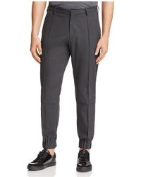 Armani - Jogger Regular Fit Trousers - Lyst