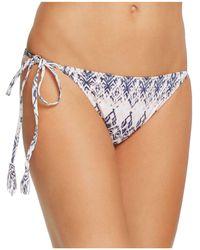 Eberjey | Rumba Eva Side Tie Bikini Bottom | Lyst