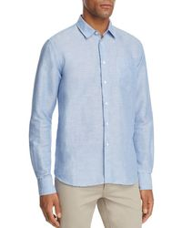 Vilebrequin - Regular Fit Long Sleeve Button-down Shirt - Lyst