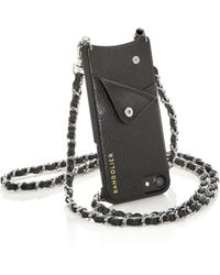Bandolier - Lucy Leather Iphone Crossbody - Lyst