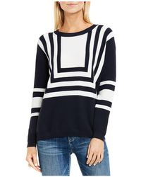 Two By Vince Camuto - Nautical Intarsia Stripe Jumper - Lyst