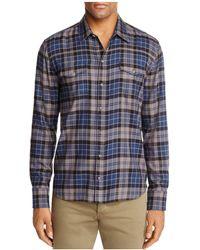 PAIGE - Everett Long Sleeve Regular Fit Button-down Shirt - Lyst