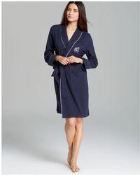 Ralph Lauren | Lauren Short Shawl Collar Robe | Lyst