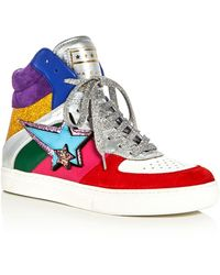 Marc Jacobs - Eclipse Embellished High Top Trainers - Lyst