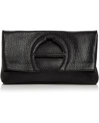 Etienne Aigner - Bombe A Leather Clutch - Lyst