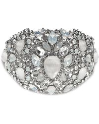 Marchesa - Embellished Statement Bangle - Lyst