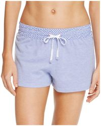 Jane & Bleecker New York - Piqué Knit Drawstring Shorts - Lyst