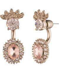Marchesa - Front-back Floater Earrings - Lyst