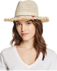 Bloomingdale's - Bead And Tassel Fedora - Lyst