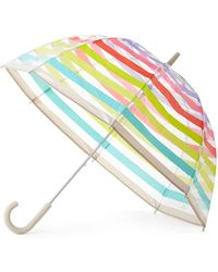Kate Spade Candy Striped Umbrella - Multicolour