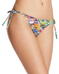 Paul Smith - Watercolor String Bikini Bottom - Lyst