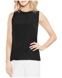 Vince Camuto - Sleeveless Overlay Top - Lyst
