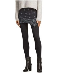 AllSaints - Raffi Bandana Skirted Leggings - Lyst