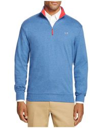 Vineyard Vines - Tiller Quarter Zip Jumper - 100% Bloomingdale's Exclusive - Lyst