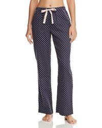 a074e8fee80b Lyst - Jane   Bleecker New York Floral   Dotted Jersey Sleep Pants ...