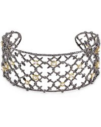 Alexis Bittar - Elements Riveted Lace Cuff - Lyst