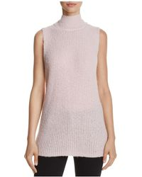French Connection - Mathilde Knits Ribbed Jumper Vest - Lyst