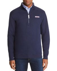 Vineyard Vines - Collegiate Shep Quarter-zip Sweatshirt - Lyst