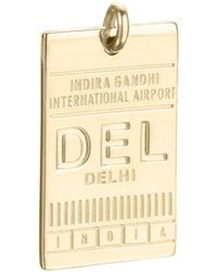 Jet Set Candy - Del Delhi India Luggage Tag Charm - Lyst