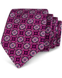 Ted Baker - Circle Medallion Classic Tie - Lyst