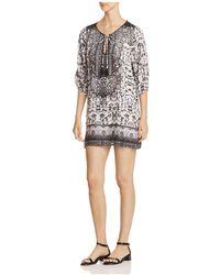 Tolani - Printed Peasant Dress - Lyst