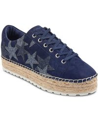 Marc Fisher - Women's Maevel Suede Platform Espadrille Sneakers - Lyst