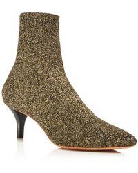 Loeffler Randall - Women's Kassidy Stretch Sock Booties - Lyst