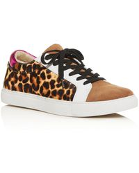 Kenneth Cole Women's Kam Animal Print Trainer - Natural