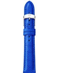 Michele - Lizard - Embossed Leather Strap - Lyst