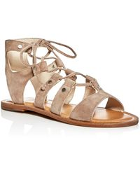 Dolce Vita Jasmyn Lace Up Sandal(Women's) -Gold Lizard Embossed Leather Top Quality Cheap Price Big Discount Cheap Online EUUsgS2Ri