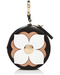 Etienne Aigner - Round Leather Coin Case - Lyst