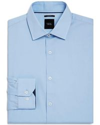 W.r.k. - Solid Stretch Slim Fit Dress Shirt - Lyst