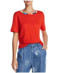 Splendid - X Margherita Color-block Trim Tee - Lyst