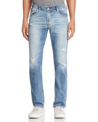 AG Jeans - Matchbox Slim Fit Jeans In 21 Years Blue Isle - Lyst