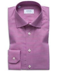 Eton of Sweden - Gingham Regular Fit Dress Shirt - Lyst
