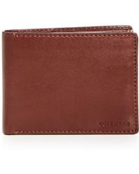 Cole Haan - Hamilton Grand Leather Bi-fold Wallet - Lyst