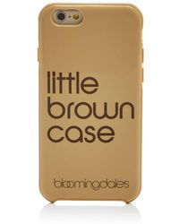 Bloomingdale's - Little Brown Iphone 7 Case - Lyst