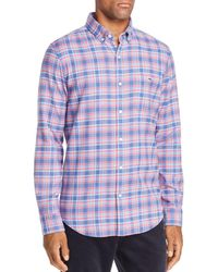 Vineyard Vines - Lockwood Flannel Button-down Shirt - Lyst